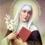 Santa Catarina de Sena, servia a Cristo e sua Igreja