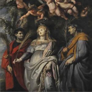 Resultado de imagem para Santa Flávia Domitila