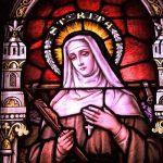 Santa Rita de Cássia, conhecida como Santa dos Impossíveis