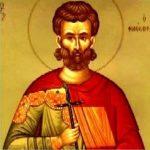 São Justino - Primeiro santo, padre