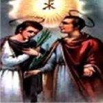 Santos João e Paulo, testemunhavam o amor a Deus