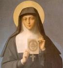 Santa Margarida Maria Alacoque, devota do Sagrado Coração de Jesus