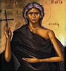 Santa Maria Egipcíaca, se comprometeu a um caminho de conversão