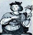 Santa Flávia Domitila, socorria os pobres