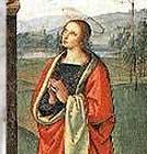 Santa Maria Madalena de Pazzi, entrou para a Ordem Carmelita