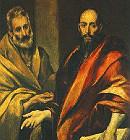 São Pedro e São Paulo Apóstolos - principais líderes da Igreja Cristã