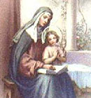 São Joaquim e Sant'Ana, pais de Nossa Senhora