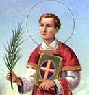 São Lourenço, servia a Deus na Igreja de Roma