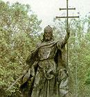 Santo Estevão da Hungria, devoto de Nossa Senhora