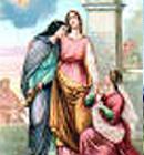 Santa Doroteia, escolheu viver a castidade, a oração e o jejum