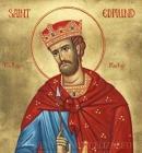 Santo Edmundo, sustento e apoio dos fracos