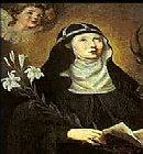 Santa Catarina da Suécia - Abadessa em Valdstena