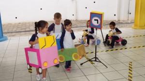 Dia de conscientização do trânsito da Educação Infantil