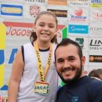 Alyne Maria Brito Medalha de ouro e bronze