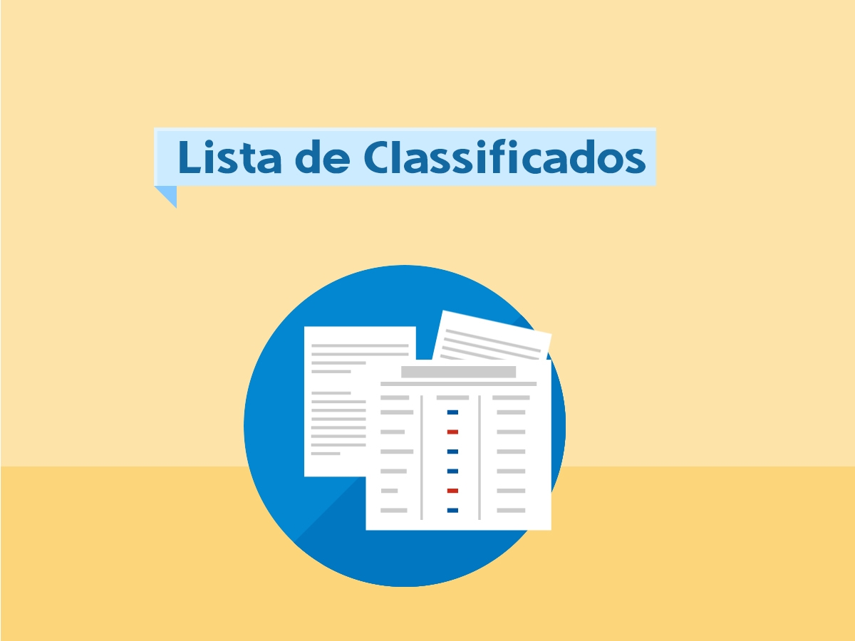 Lista de Classificados 2017