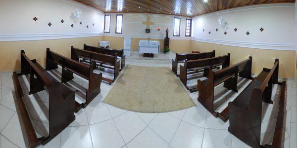 Capela São Domingos Sávio Instituto Canção Nova|Foto: Wesley Almeida