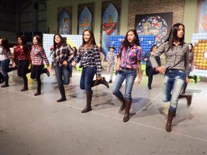 Apresentação de danças Foto: Samuel Matos