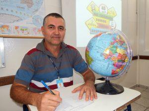 Professor Carlos Eduardo / Foto: Eugênia Fraante