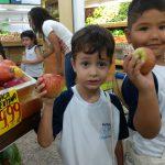 Visita ao supermercado Destaque