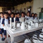 Educandos visitam Cerâmica Artística