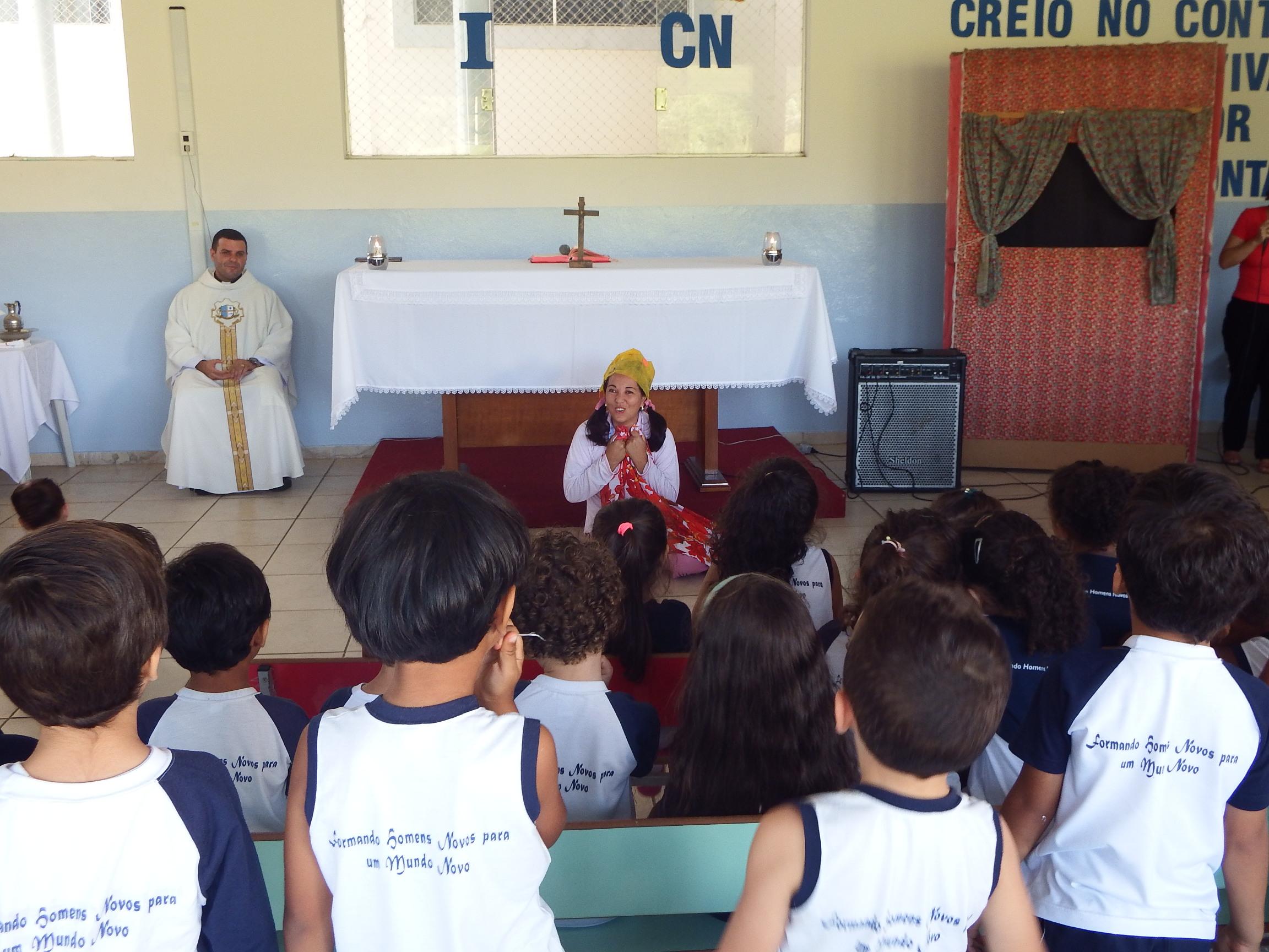 """Missa de inauguração do Prédio """"São Domingos Sávio"""""""