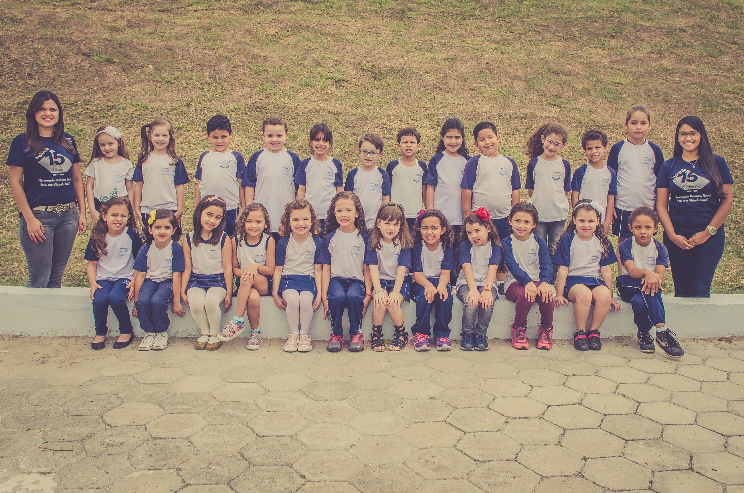 Formandos da Educação Infantil