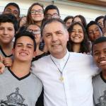 Reitor-Mor da Congregação Salesiana visita o Polo Educacional Canção Nova