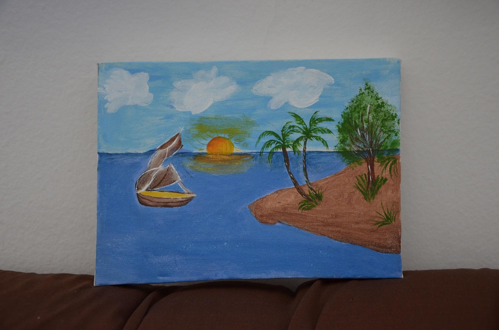 Projeto Pintura Em Tela Realizado Com Os Alunos Dos 8 Anos