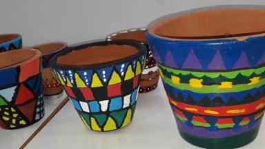 Cerâmica da Tribo Indígena Kadiwéu - Arte Indígena