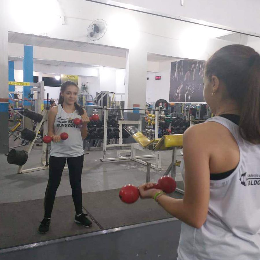 Exercício de musculação