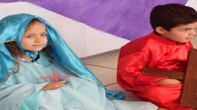 Alunos da Educação Infantil Vivenciam a Semana Santa