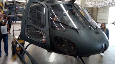 Educandos visitam Comando de Aviação do Exército - CAvEx