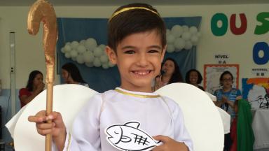 Educação Infantil e Fundamental I celebram com alegria o Dia de todos os Santos