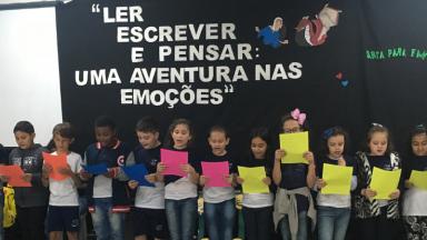 Projeto ler, escrever e pensar: Uma aventura nas emoções