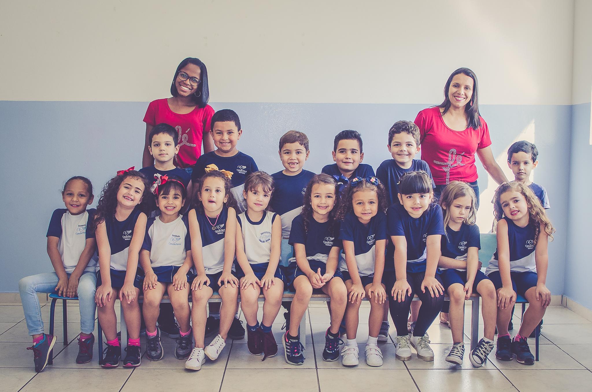 Turmas de Formandos da Educação Infantil 2020