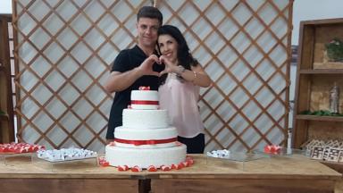 """O retiro de casal foi inspirador"", diz esposa"