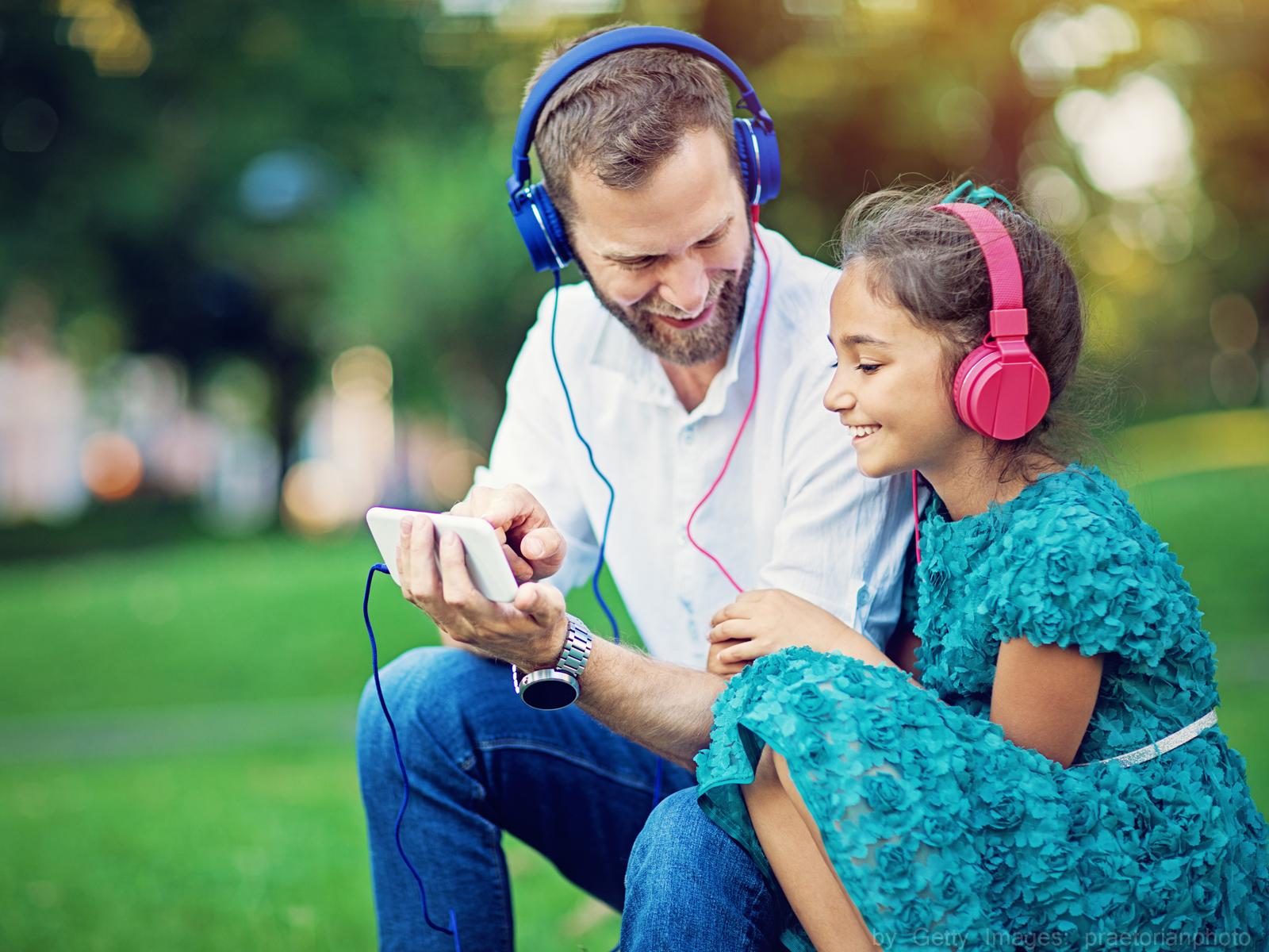 A música tem grande influência sobre os nossos filhos