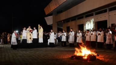 Saiba como é realizada a Liturgia da Vigília Pascal?