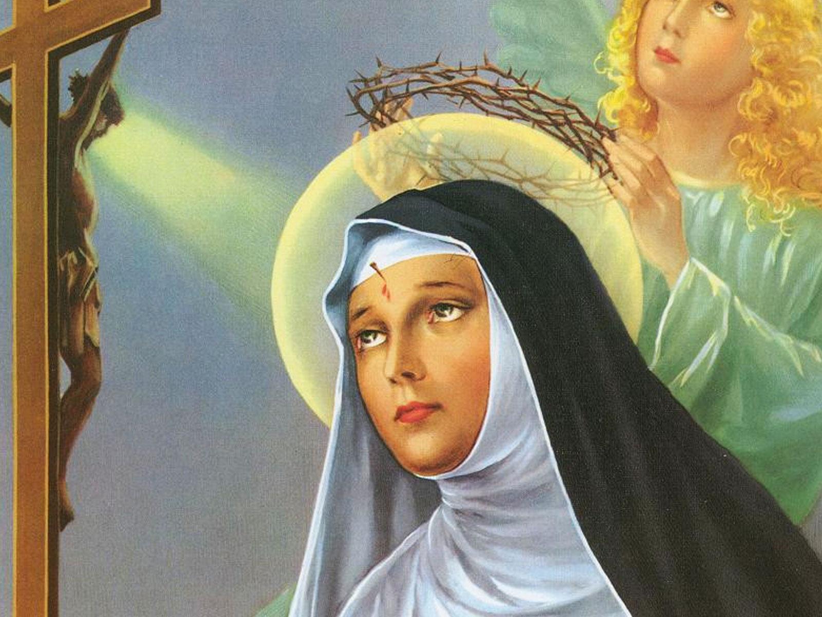 Diante Dos Impossíveis Peçamos Socorro A Santa Rita De Cássia