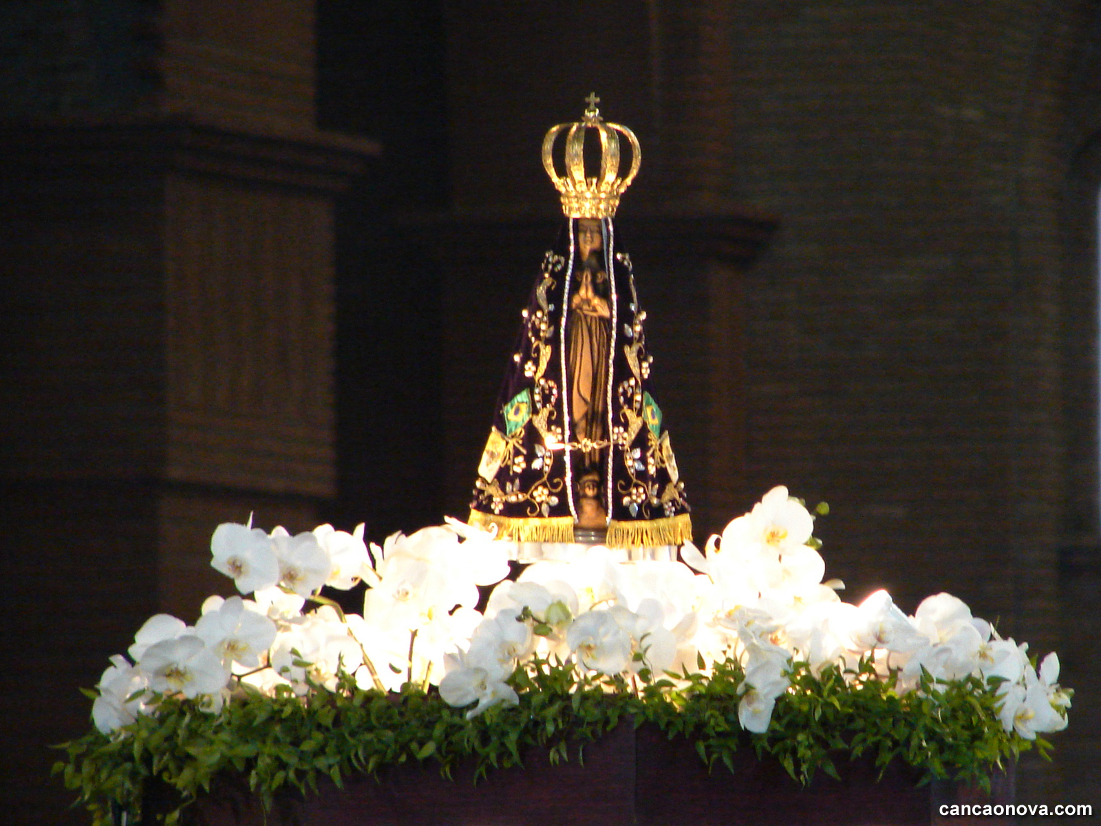 Reze com Nossa Senhora Aparecida