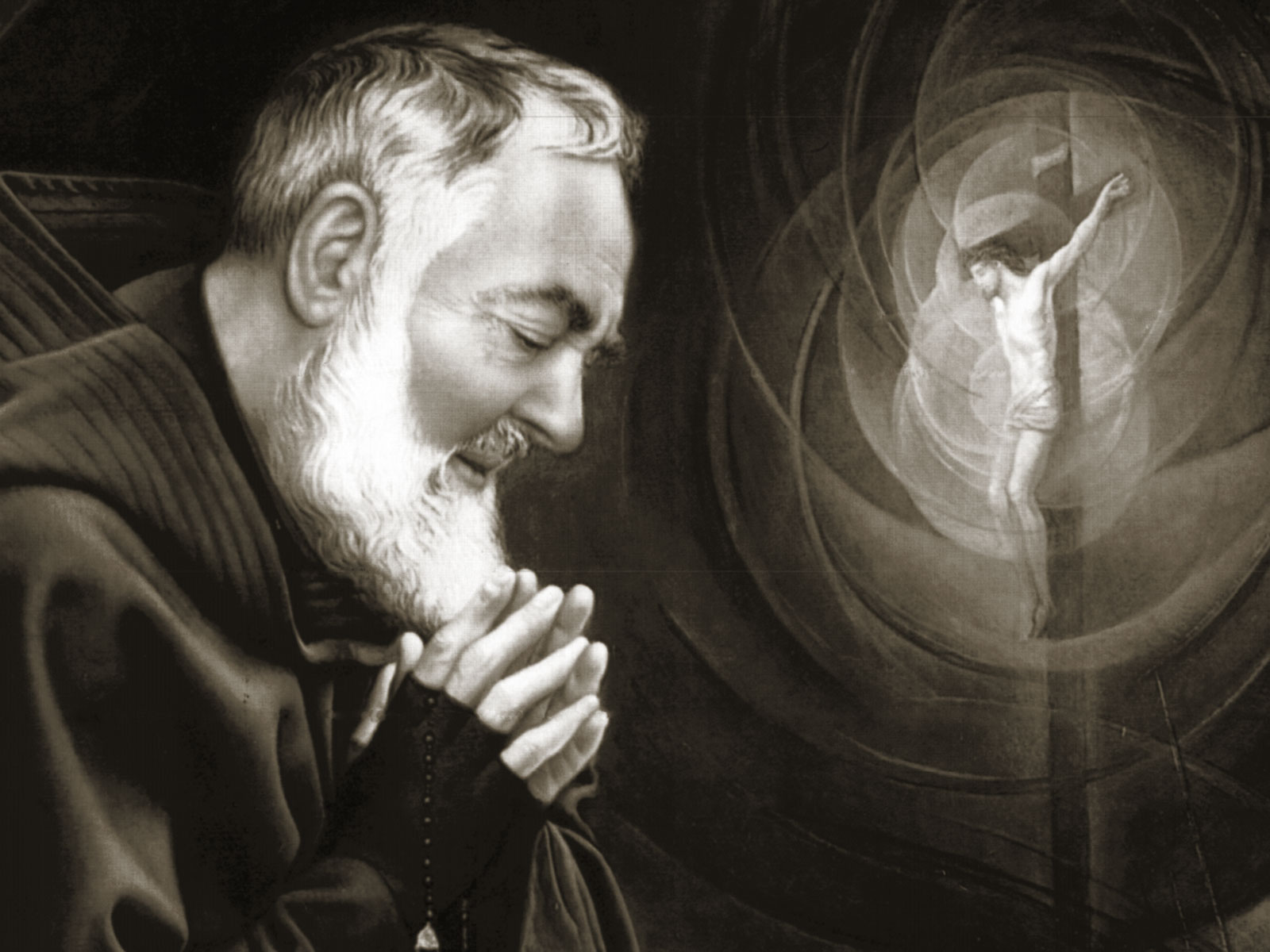 Rezemos juntos a Novena a São Pio de Pietrelcina