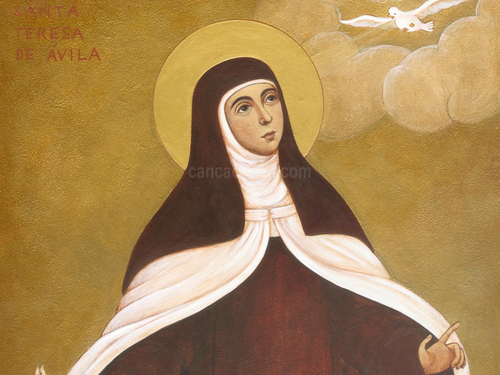 Frases De Santa Teresa De ávila Expressa Seus Pensamentos Grupo