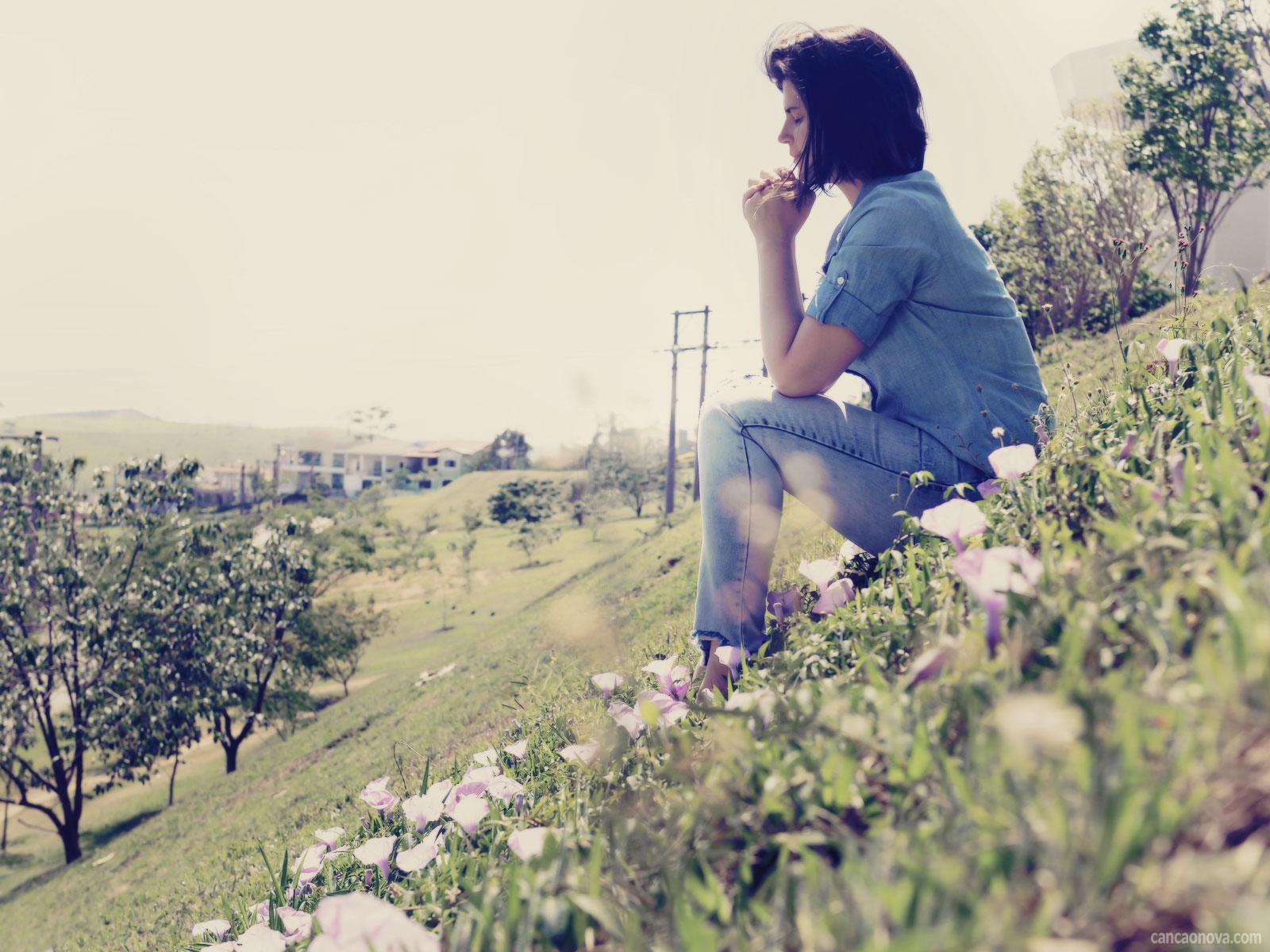 A fé e a oração são segredos para sermos fortes, por isso rezemos
