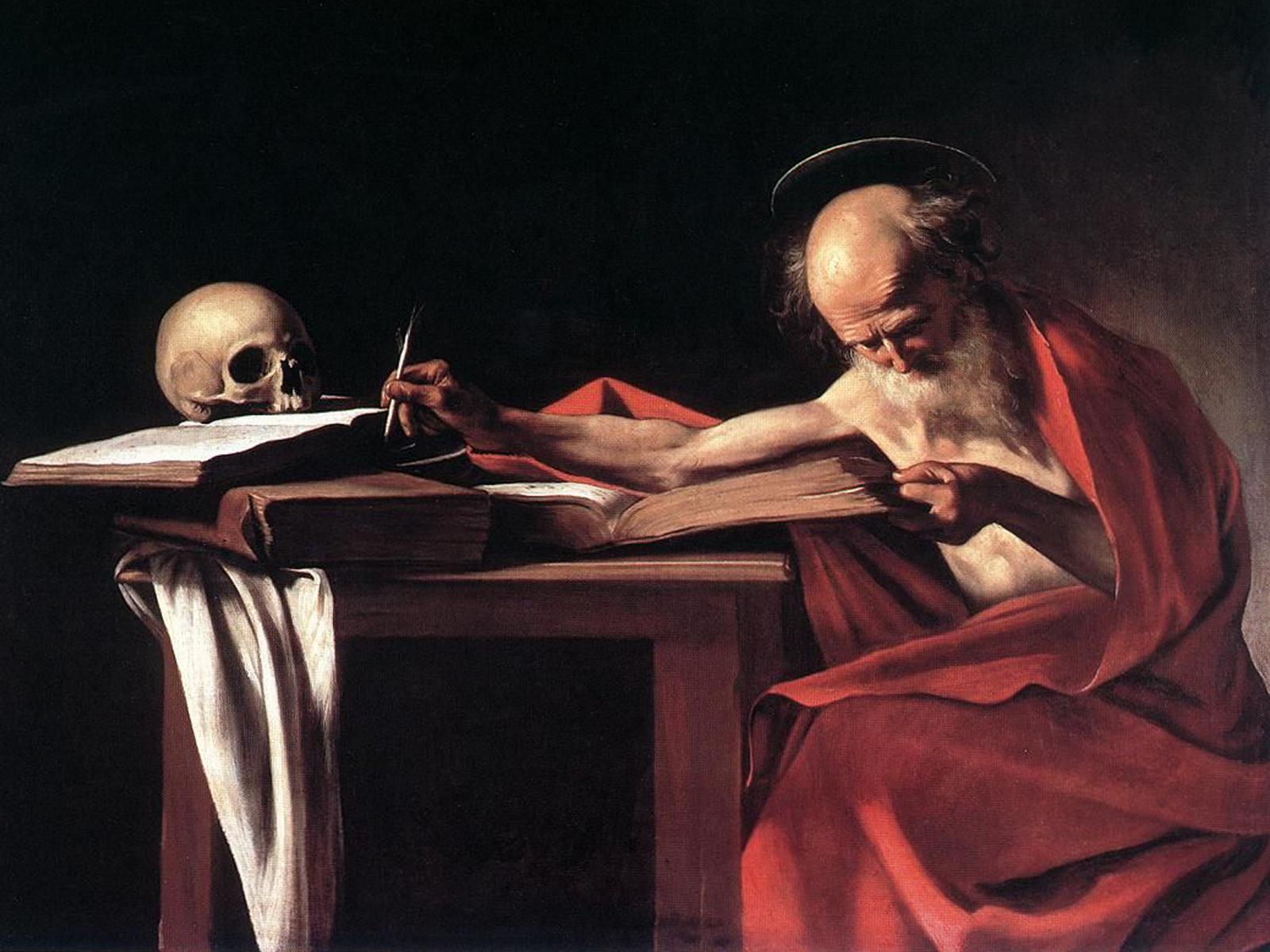 São Jerônimo encontrou o seu caminho na Bíblia