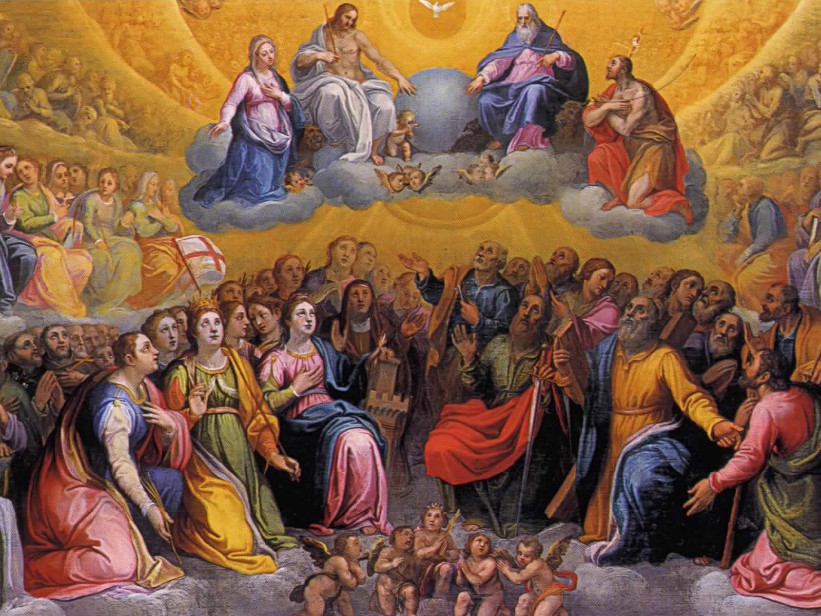 A celebração da festa de Todos os Santos