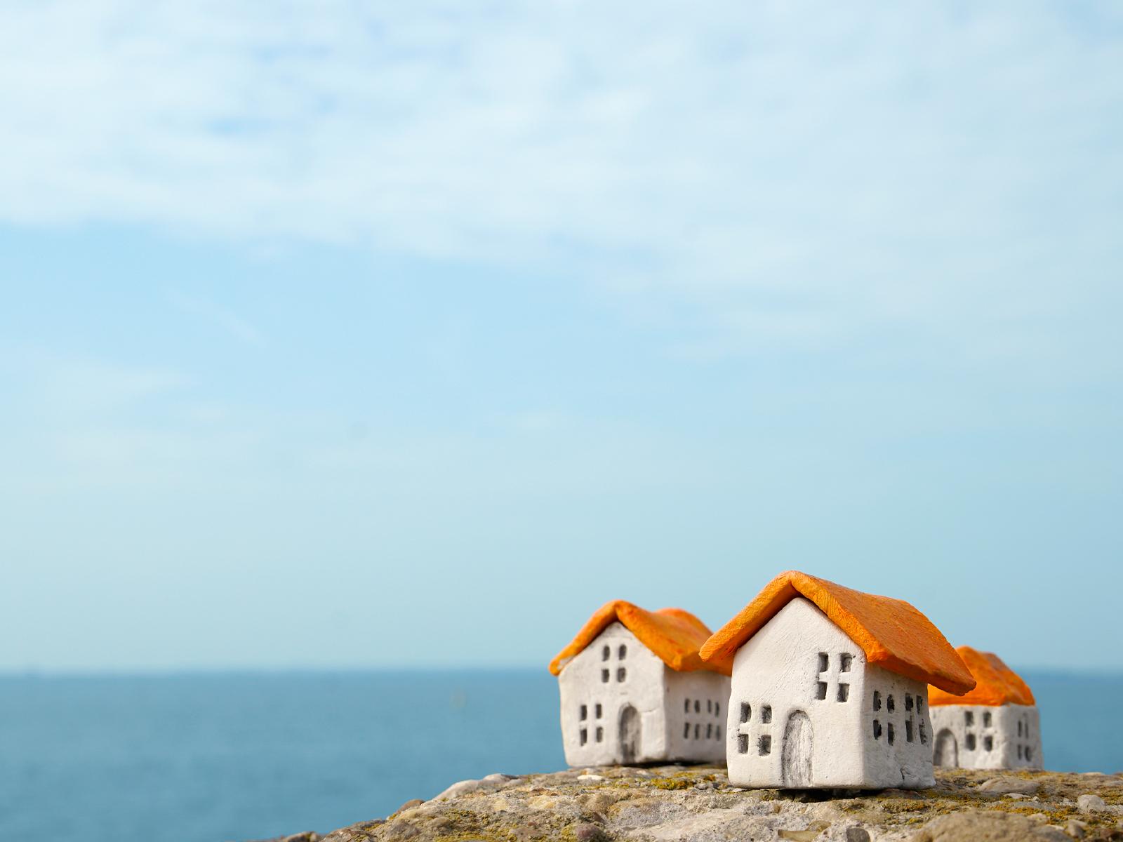 Qual é a reflexão que podemos fazer da casa sobre a rocha?