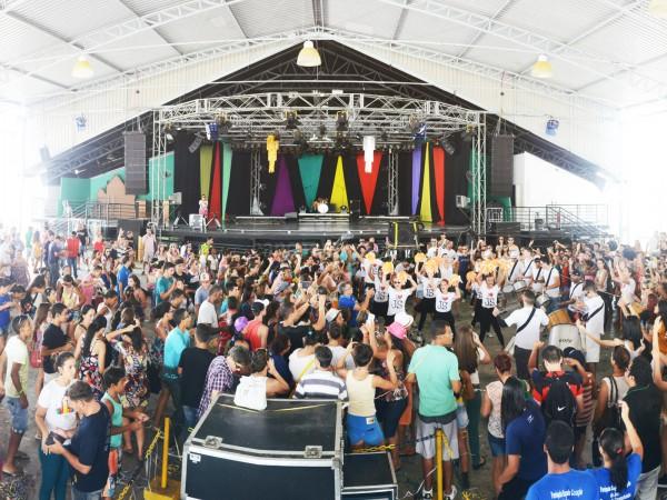 A alegria do Carnaval