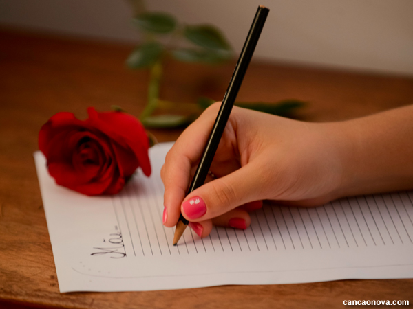 Uma carta para minha mãe - Capa Portal