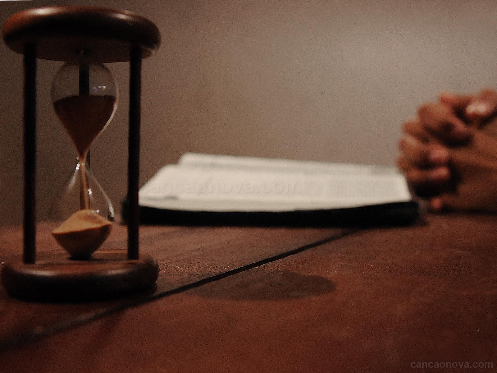 A pressa é uma grande inimiga da nossa vida espiritual