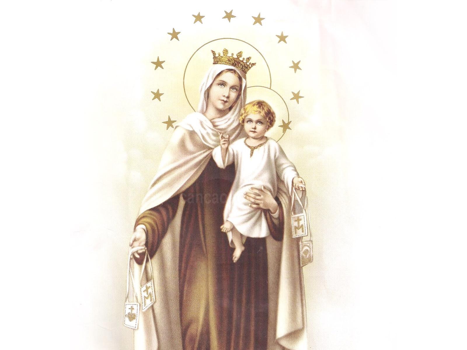 Nossa Senhora: Novena De Nossa Senhora Do Carmo